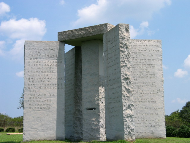 File:Georgia Guidestones 1.jpg