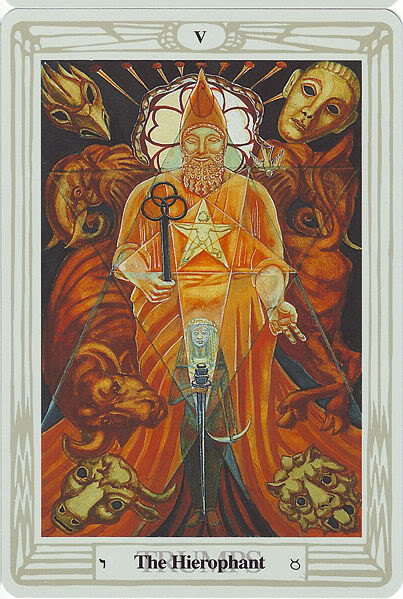 File:Crowley Thoth Tarot - 5 - The.jpg