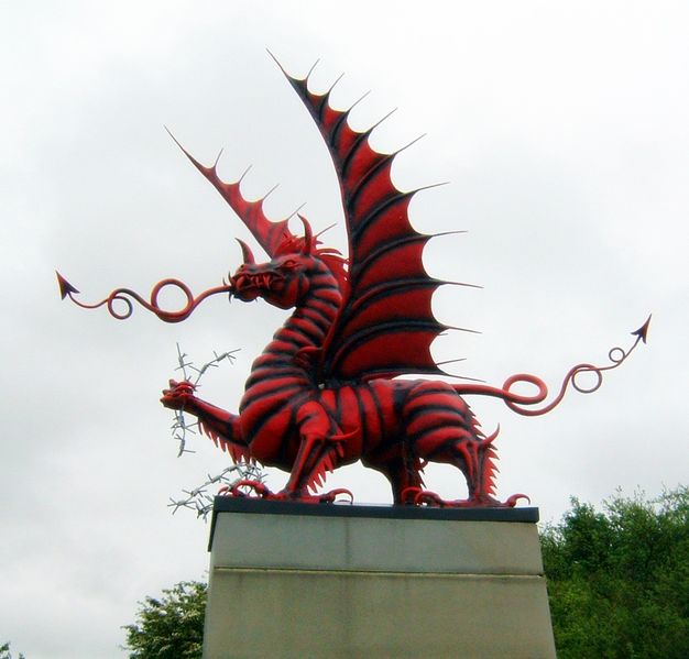 File:Welsh Dragon Memorial Mametz Wood.jpg